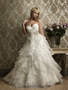 rochie de mireasa cu volane by Best Bride