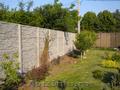 Vand gard din placi de beton armat